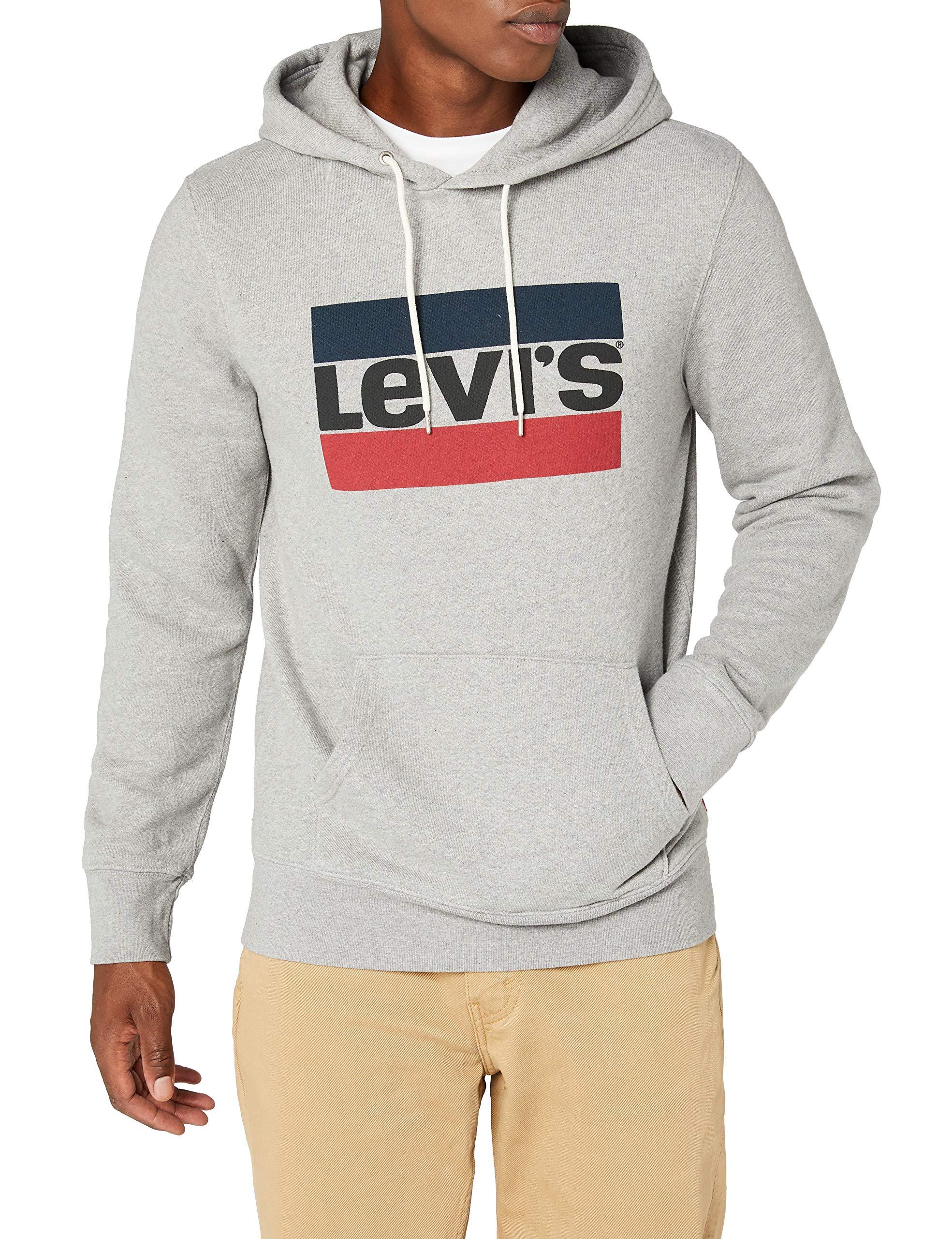 b1a9fc2dc1 Levi's Graphic Po Hoodie-B, Sweat-Shirt à Capuche Homme