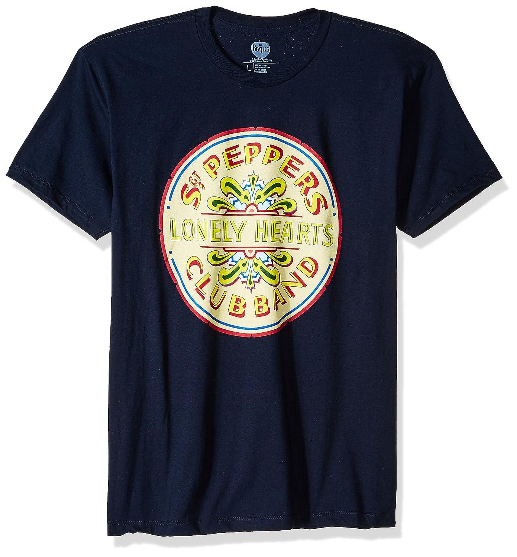 Bravado Men's The Beatles Lonely Hearts Seal T Shirt 20611341