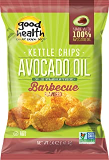 product image for Good Health Avocado Oil Potato Chips, Barcelona BBQ, 5-Ounce (Pack of 12)