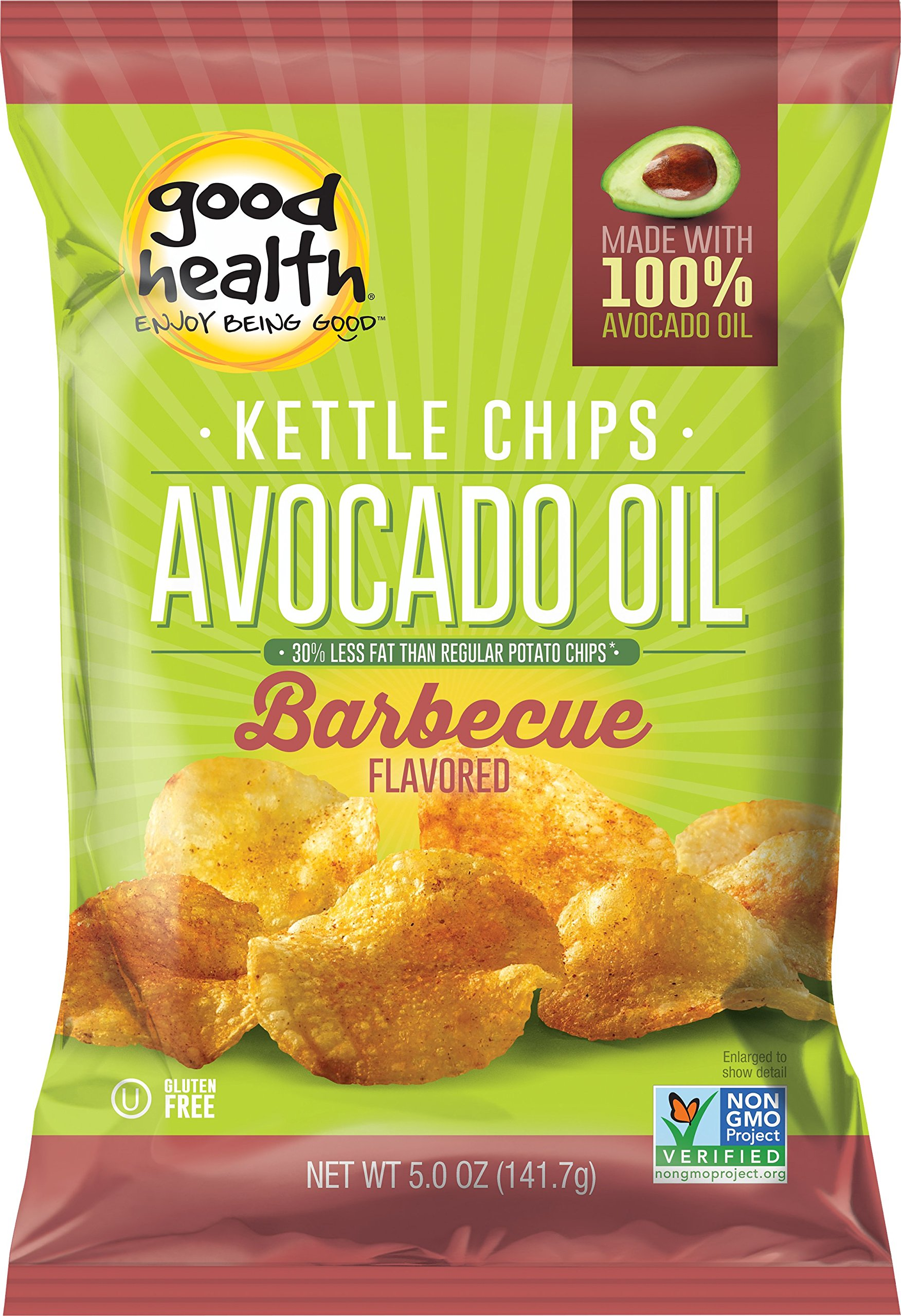 Amazon Com Good Health Avocado Chips Sea Salt 5 Ounce