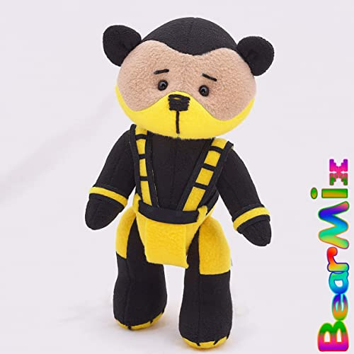 Amazon.com: Scorpion bear - mortal kombat 3 Hanzo Hasashi ...