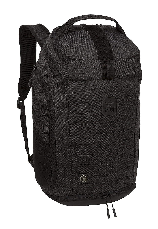Samurai Kabuto Tactical Kabuto Woven Day Backpack, Woven Samurai Heathered Black [並行輸入品] B07R3Y5TDJ, イシカワマチ:7c79c1c3 --- anime-portal.club