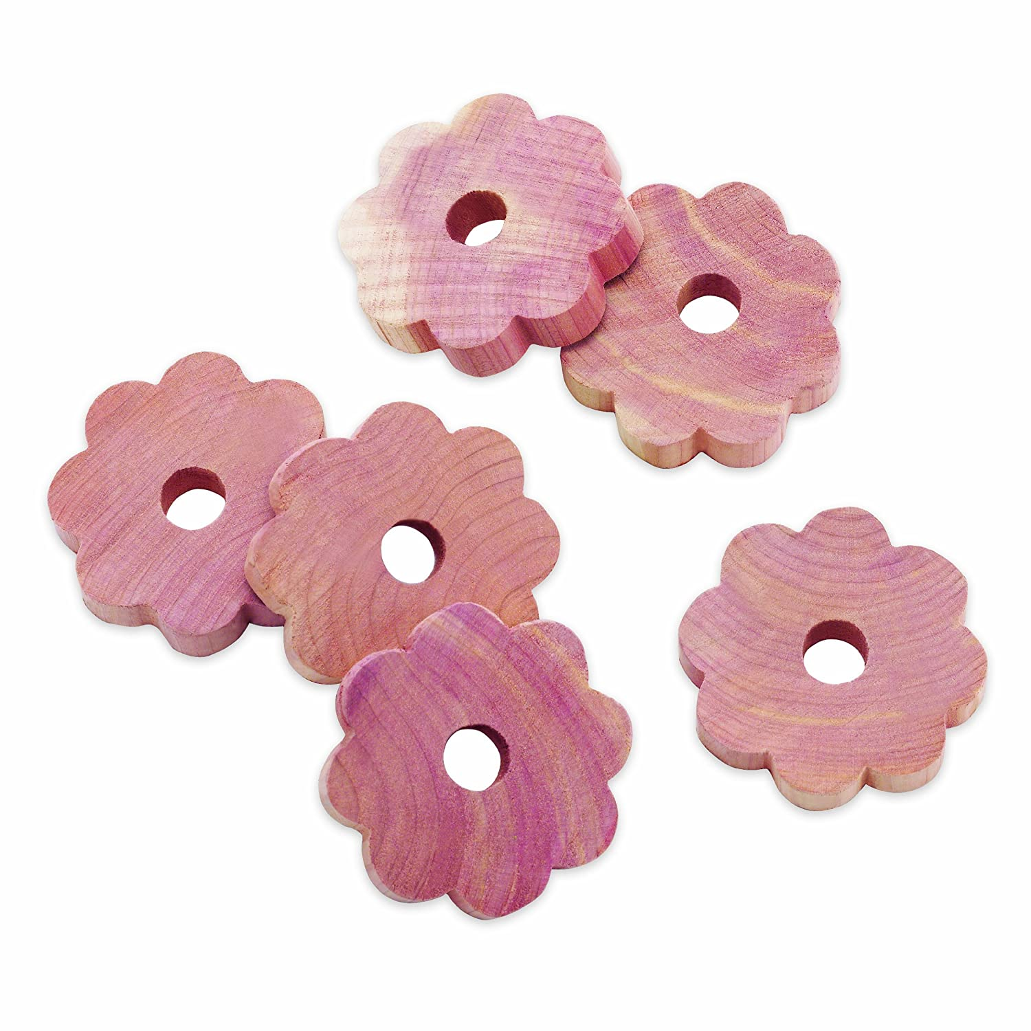 Whitmor Cedar Flowers, Set of 6 6042-4654