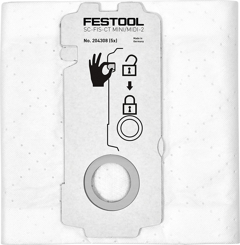 Festool SELFCLEAN Filtersack SC FIS-CT MIDI//5 498411