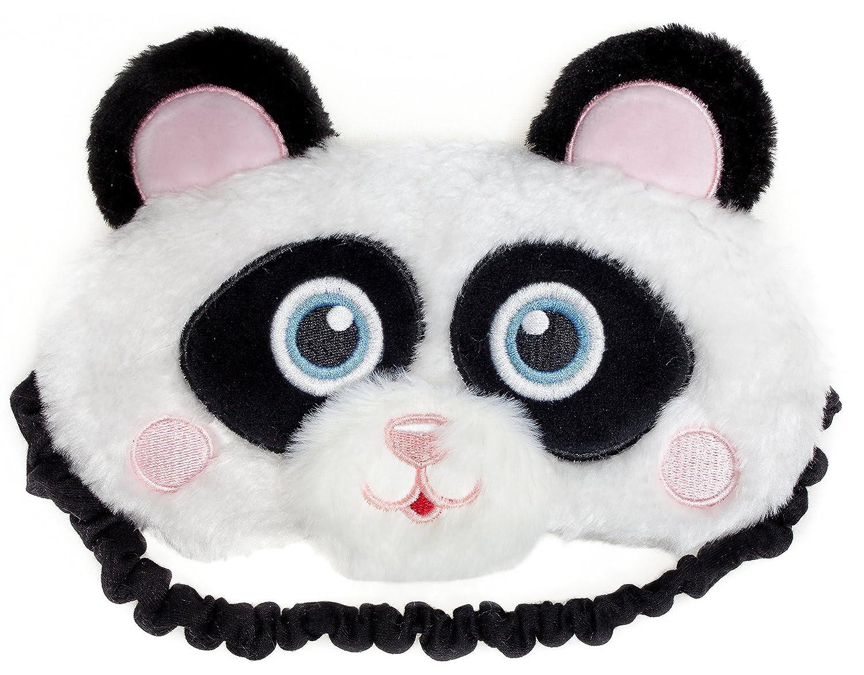 l/éger masque de voyage ou de m/éditation pour les yeux Fringoo Masque de repos en peluche douce licorne mignonne 3D