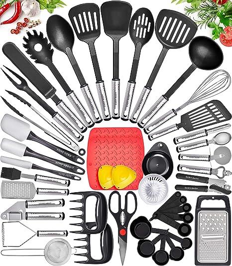 6X Heat Resistant Non-stick Nylon Kitchen Cookware Set Cooking Utensil Tools Kit