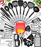 Home Hero Kitchen Utensil Set Cooking Utensils Set - Nylon Kitchen Utensils Set Kitchen Tool Set 44 Pcs. Cooking Utensil…