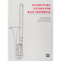 Elementary Etudes for Bass Trombone book cover