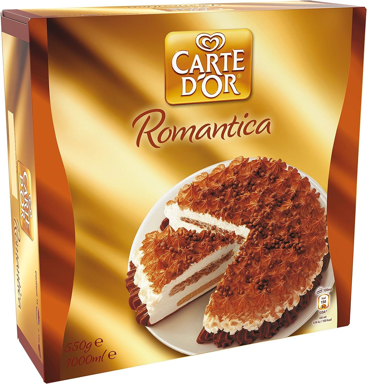 Carte DOr - Romantica, Helado sabor vainilla y caramelo, 1 L ...