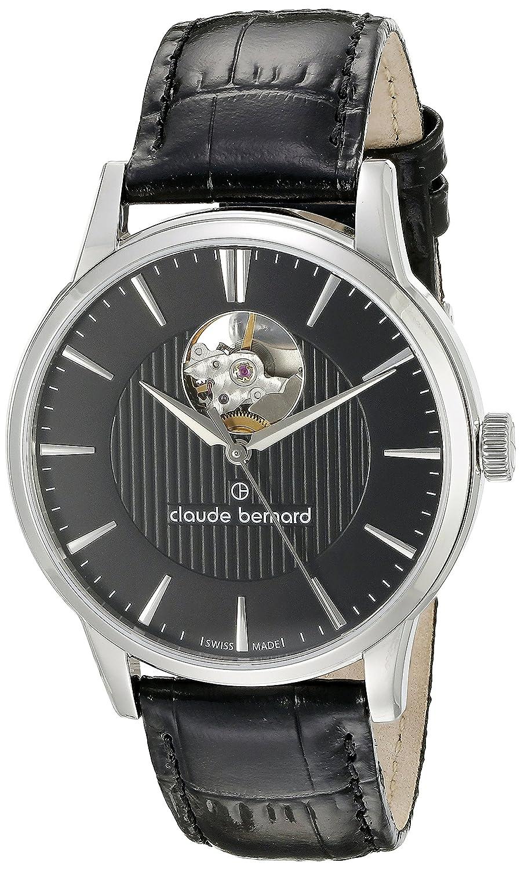 クロードベルナール(Claude bernard) メンズ時計(【型番:850173AIN】機械式(自動巻式)5気圧防水)【ブラック/1サイズ】 B00JDSG00E