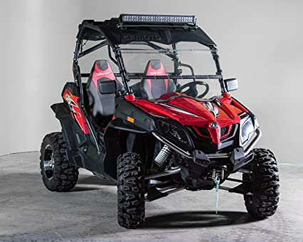 CF Moto Z Force Full Tilting UTV Windshield 3/16