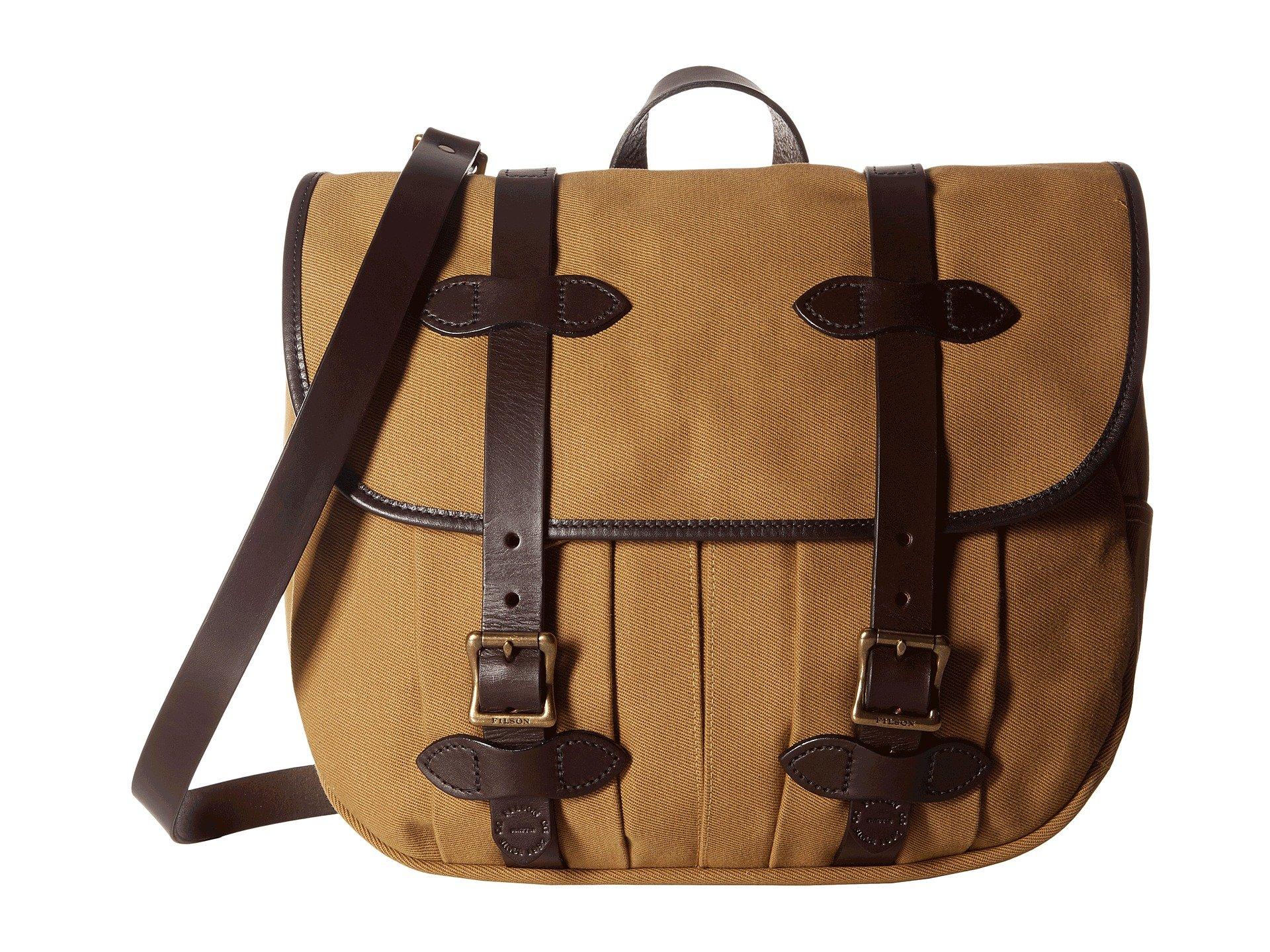 Filson Unisex Medium Field Bag Tan 1 One Size
