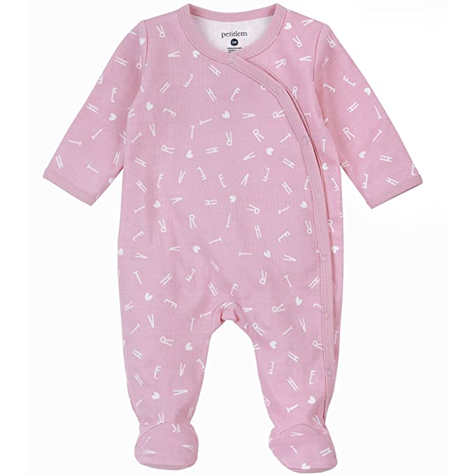 ac8545dfe Amazon.com  Petit Lem Unisex Baby Footed Sleeper  Clothing