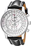Breitling Men's A2133012/G518 Montbrilliant Datora Chronograph Watch