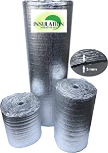 "Reflective Insulation Shield, Heat Shield, Thermal Insulation Shield 16""x50ft, 24""x50ft, 48""x50ft, 48""x100ft (16""x50')"