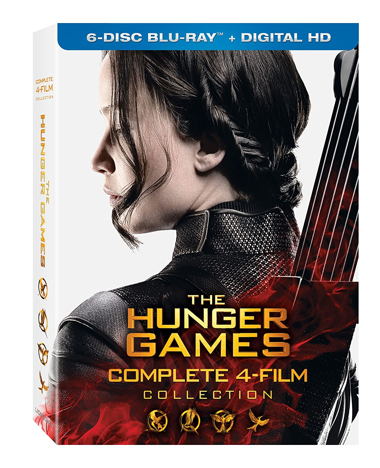 The Hunger Games: Complete 4 Film Collection [Blu-ray + Digital HD]