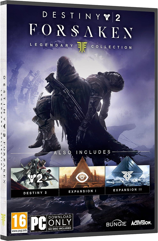 Destiny 2: Forsaken - Legendary Collection PC DVD [Importación ...