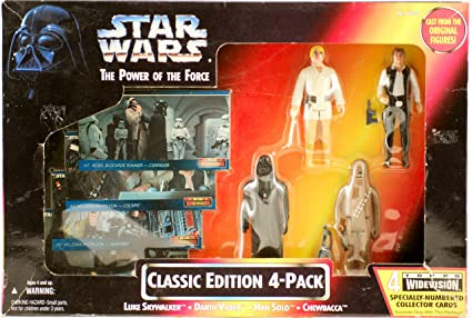 f4b1d191e6a7 Amazon.com  Star Wars Toys R Us Exclusive Power of the Force Classic ...
