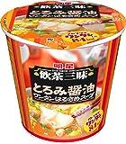 明星 飲茶三昧 とろみ醤油 ワンタンはるさめスープ 22g×6個