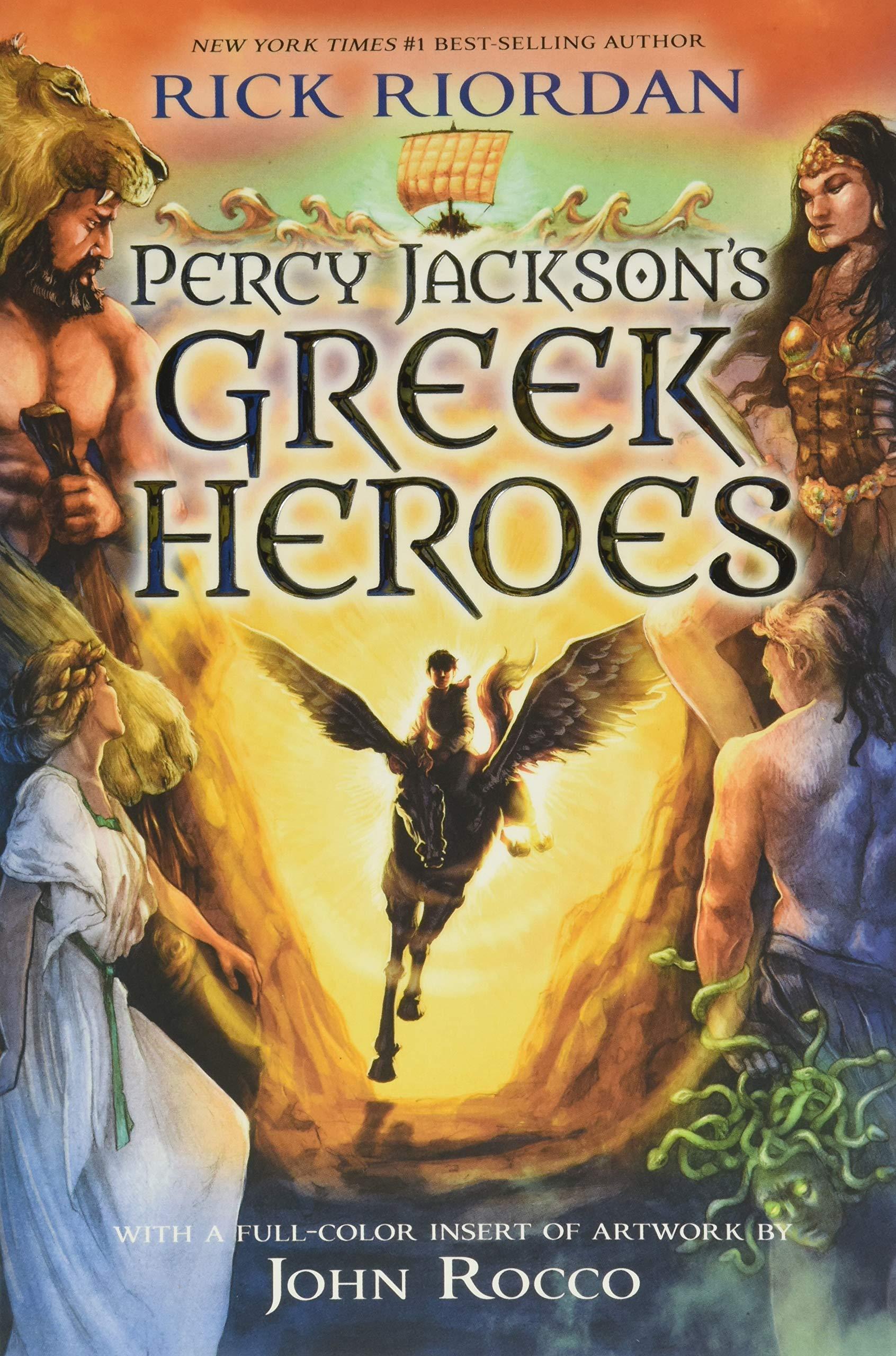 Read Percy Jacksons Greek Heroes By Rick Riordan