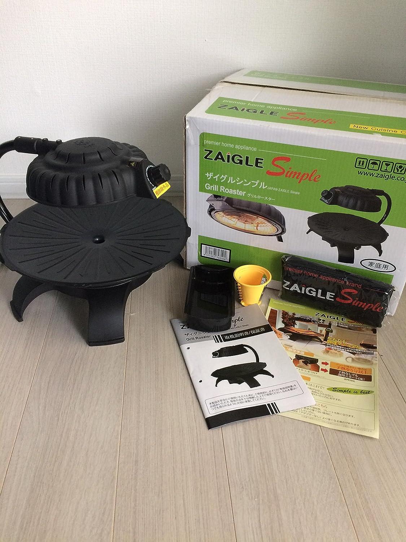 ZAIGLE(ザイグル)シンプル ブラック   B00JQXR2YY