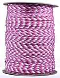 BoredParacord Brand Paracord (1000 ft. Spool) - Breast Cancer Awareness