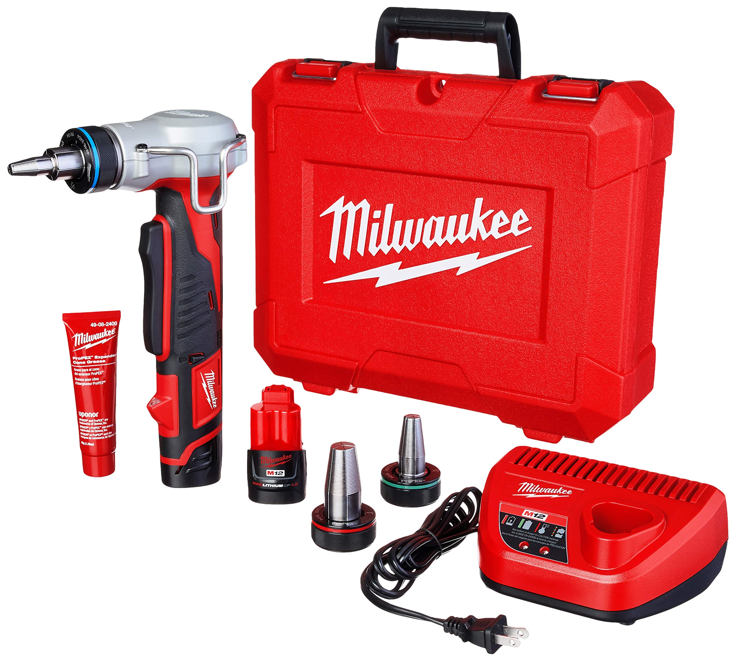 Milwaukee 2432-22 M12 12V Propex Expansion Tool Kit by Milwaukee