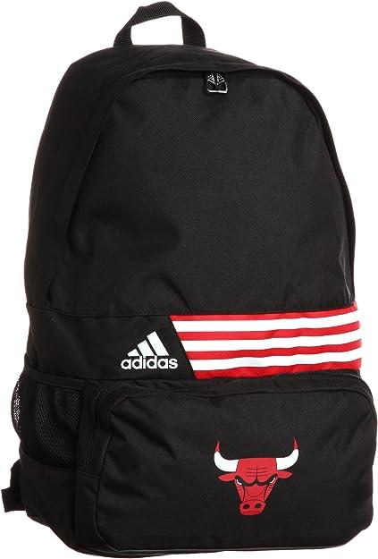 adidas Backpack 3 Stripes Chicago Bulls