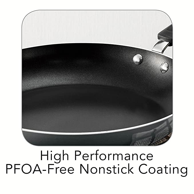 Amazon.com: Tramontina 80106/639 Gourmet Porcelain Enamel Aluminum, Nonstick, Cookware Set, 14 Piece, Charcoal Gray, Made in USA: Kitchen & Dining