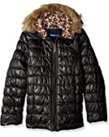 Limited Too Girls' Quilted Iridescent Puffer