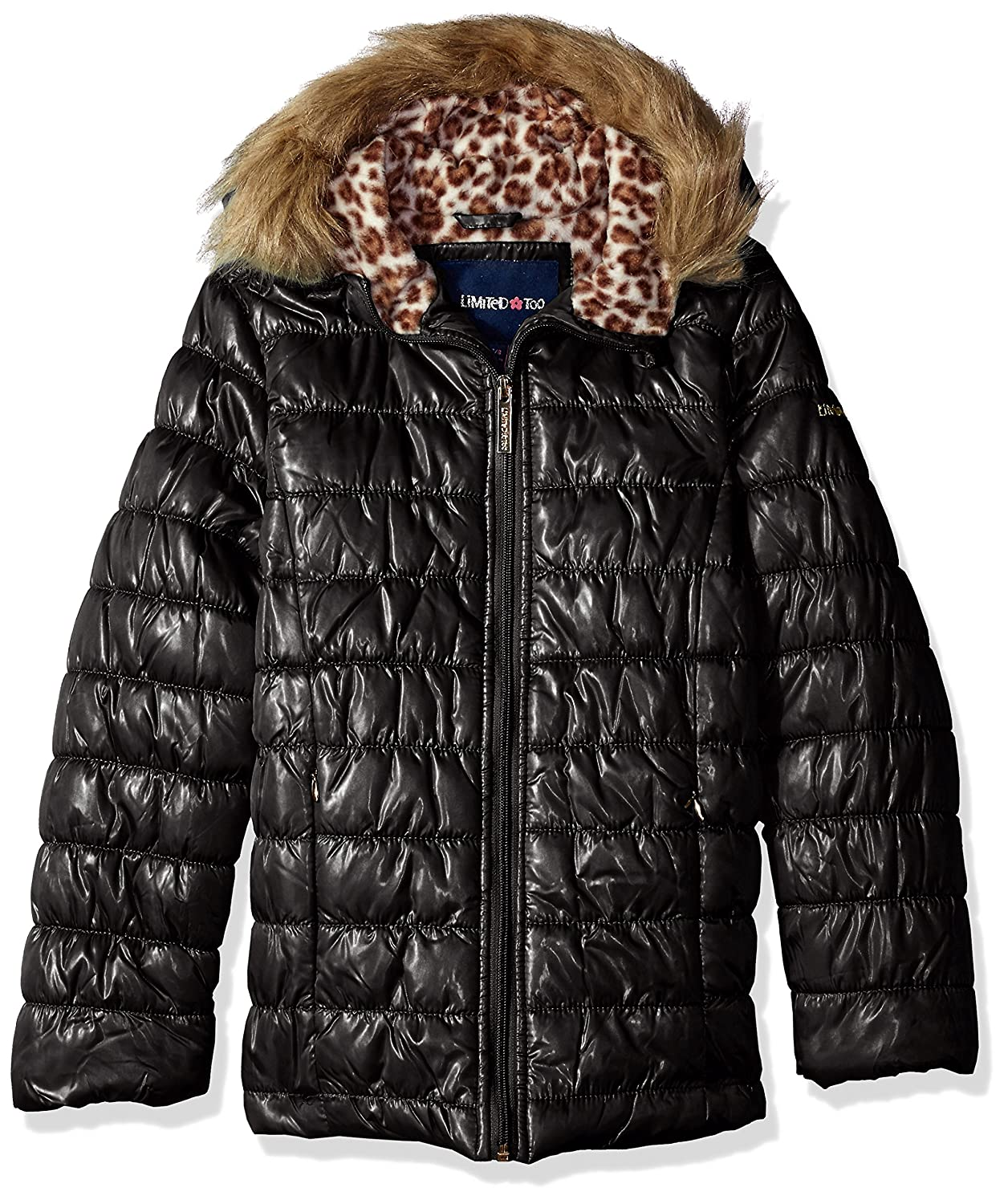 amazon com limited too girls quilted iridescent puffer clothing rh amazon com