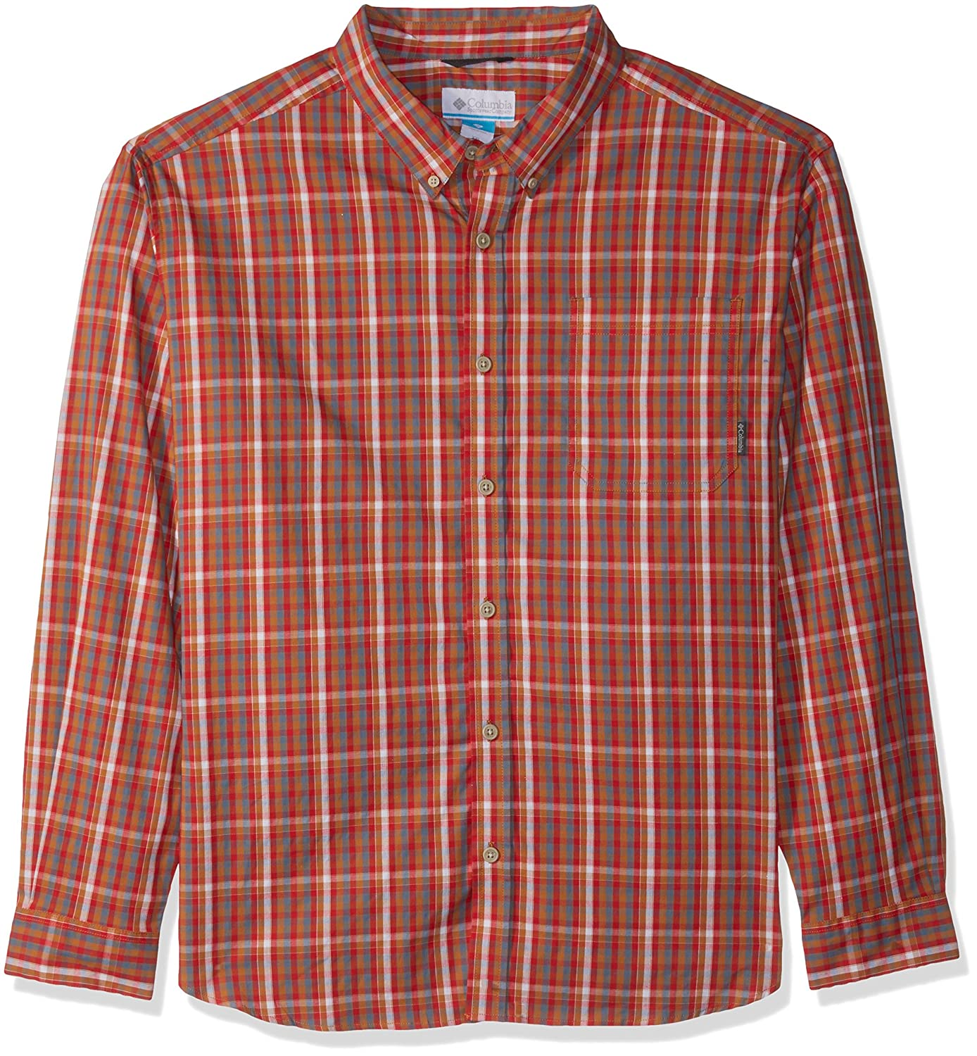 Canyon or Mini Plaid XL Columbia Homme 1552054 Manches Longues Chemisier