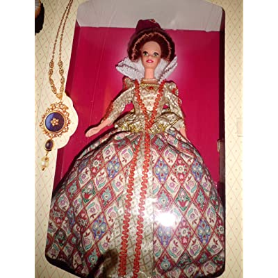 Barbie Elizabethan Queen The Great Era Collection Doll: Toys & Games