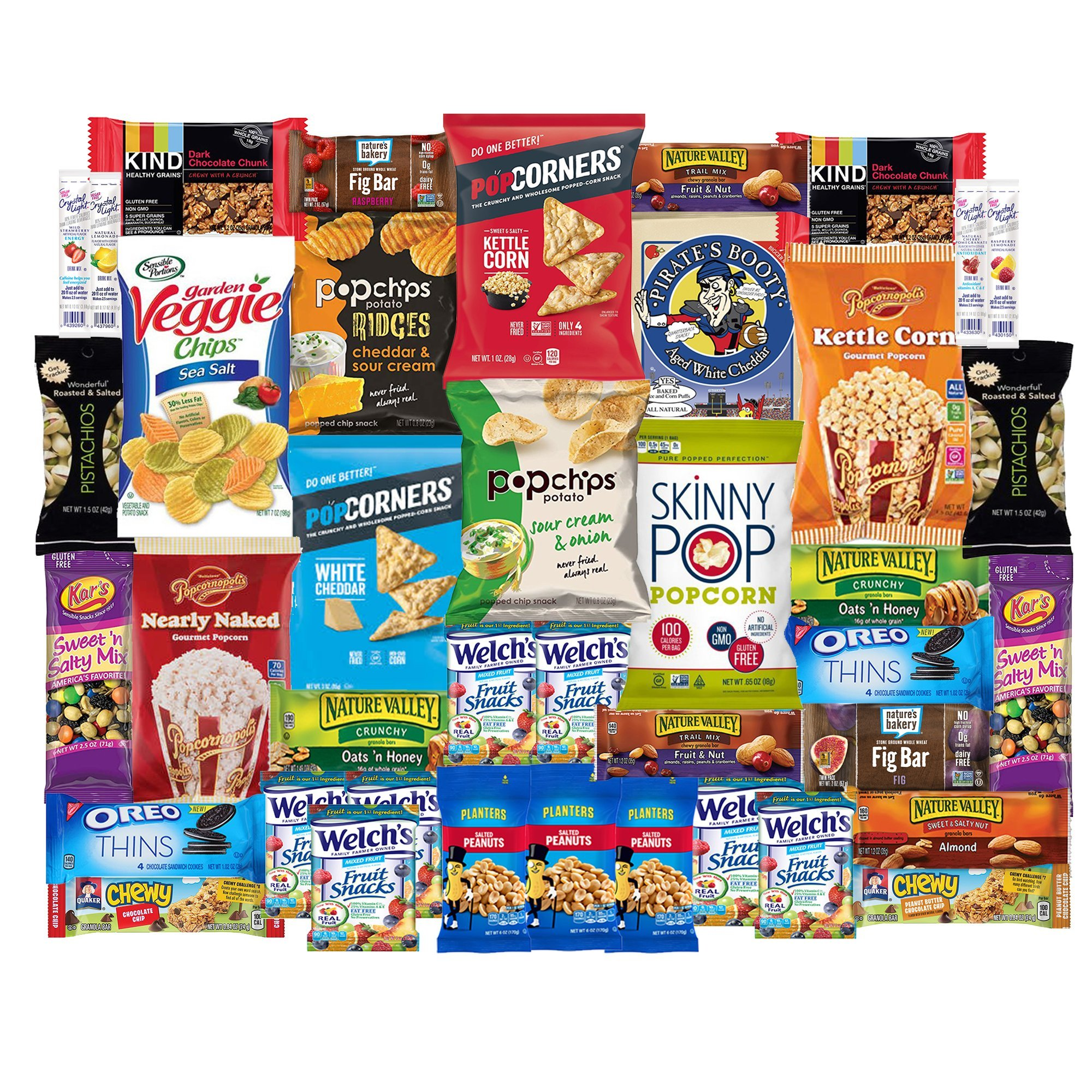 healthy snacks care package snack box for college students military gift basket fathers