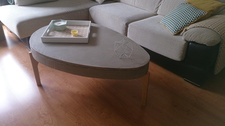 Mesa elevable de cemento mesa de centro mesa elevable centro ...