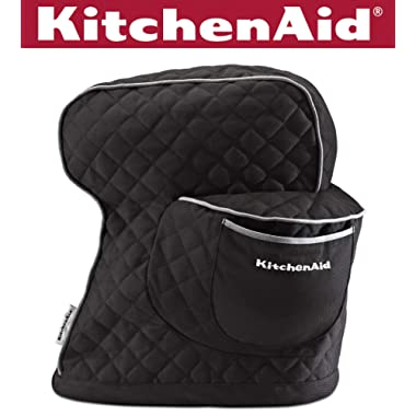 KitchenAid KSMCT1OB Fitted Stand Mixer Cover - Onyx Black