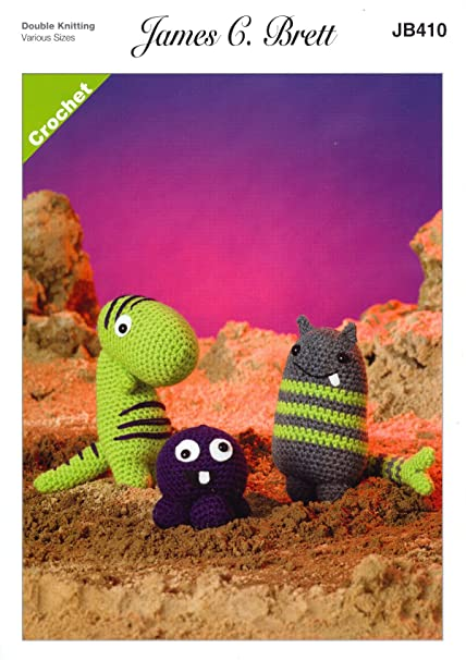 Amazon James Brett Double Knit Crochet Pattern Fun Magic