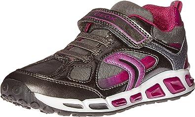 evaporación el viento es fuerte Trascender  Amazon.com   Geox J Shuttle Girl 8 Sneaker   Sneakers