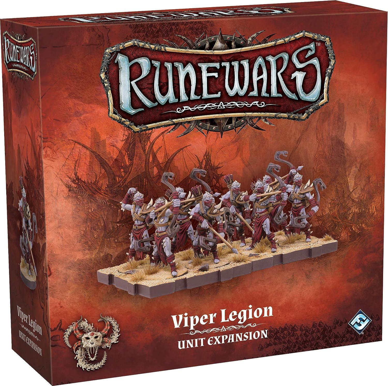Fantasy Flight Games RuneWars: The Miniatures Game - Viper Legion Unit Expansion - English