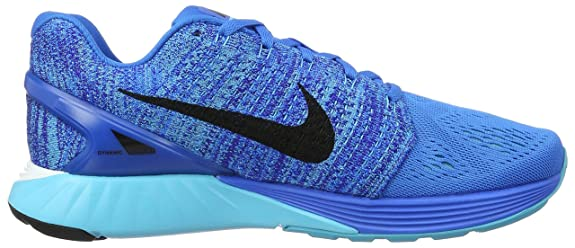a2426fcbec14f Nike Men s Lunarglide 7 Photo Blue Black GMM Bl Cncrg Running Shoe 9. 5 Men  US  Buy Online at Low Prices in India - Amazon.in