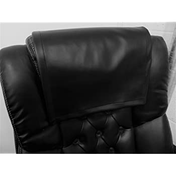 Ordinaire Vinyl, Faux Leather PVC Black ,15x15 Sofa Loveseat Chaise Theater Seat, RV  Cover