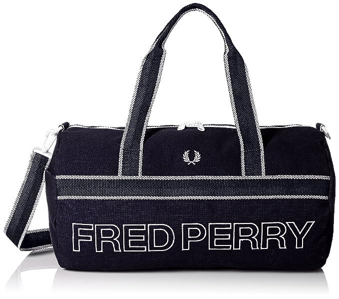 Fred Perry Clothes - Bolsa Saco Marino Logo Vivos Clothes - U, Marino: Amazon.es: Ropa y accesorios