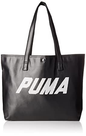 fcd63b215f22 PUMA Prime Street Large Shopper P (074554 01) (Puma Black   Puma White