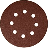 Bosch SR5R082 25-Piece 80 Grit 5 In. 8 Hole Hook-And-Loop Sanding Discs