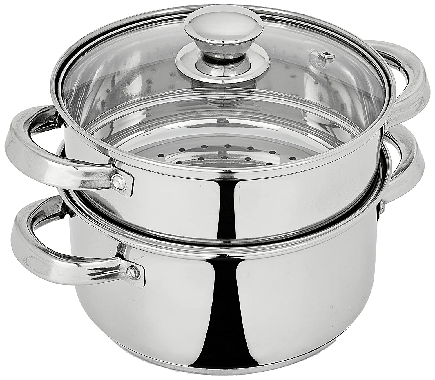Amazon Brand - Solimo Stainless Steel Induction Bottom