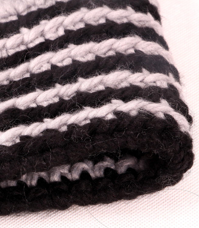 Amazon.com : Sumolux Winter Kids Warm Fox Animal Hats Knitted Coif Hood Scarf Beanies for Autumn Winter