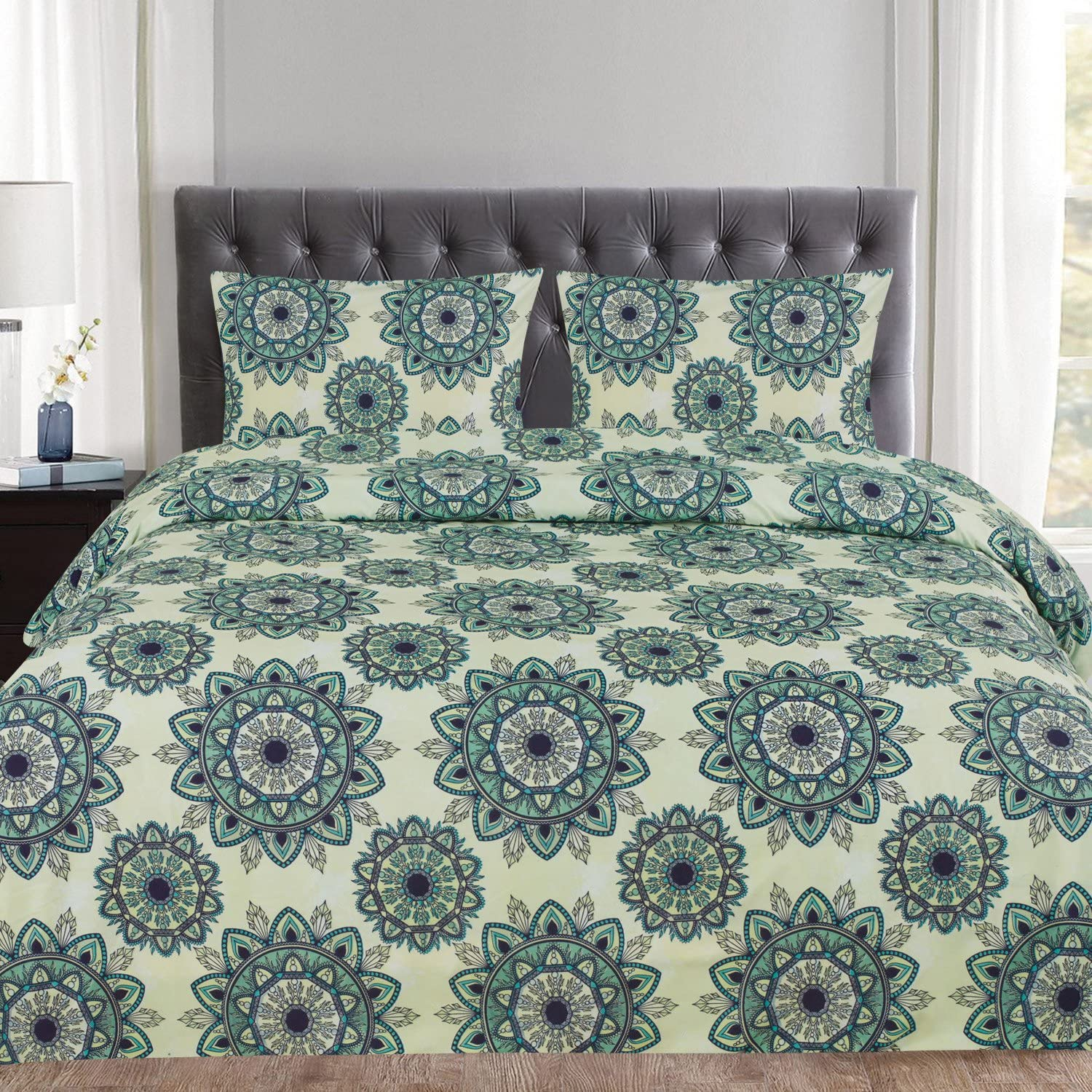 Sweet Home Collection Mandala Pattern, Full/Queen, Ashley