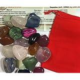 Sacchetto riempito di pietre preziose