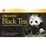 Uncle Lee's Tea Organic Black Tea, 100 Count Boxes, Pack of 4