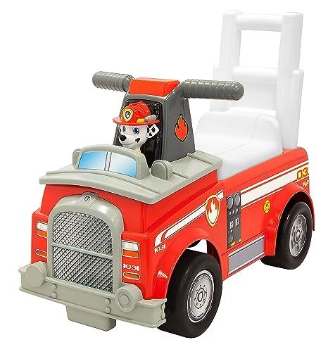 Paw Patrol Marshall Fire Engine Ride On Vehicle